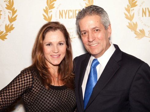 NYCIFF 2012 with Founder and President Roberto Rizzi